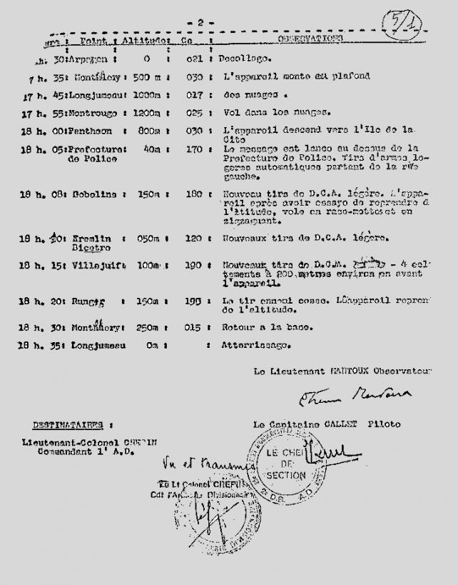 Ordre de mission 25 aout 1944 2eme partie